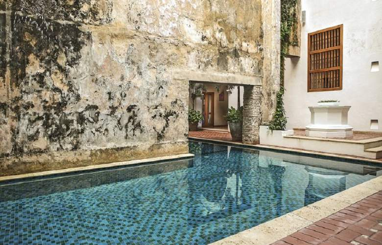 Hotel Casa San Agustin Cartagena - Pool - 2