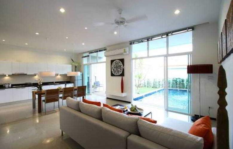 Two Villas Holiday Oxygen Style Nai Harn Beach - Room - 5