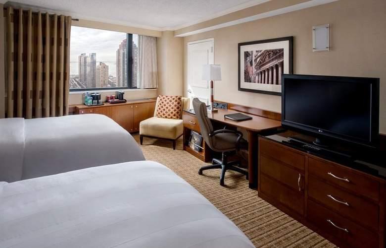New York Marriott Downtown - Room - 11