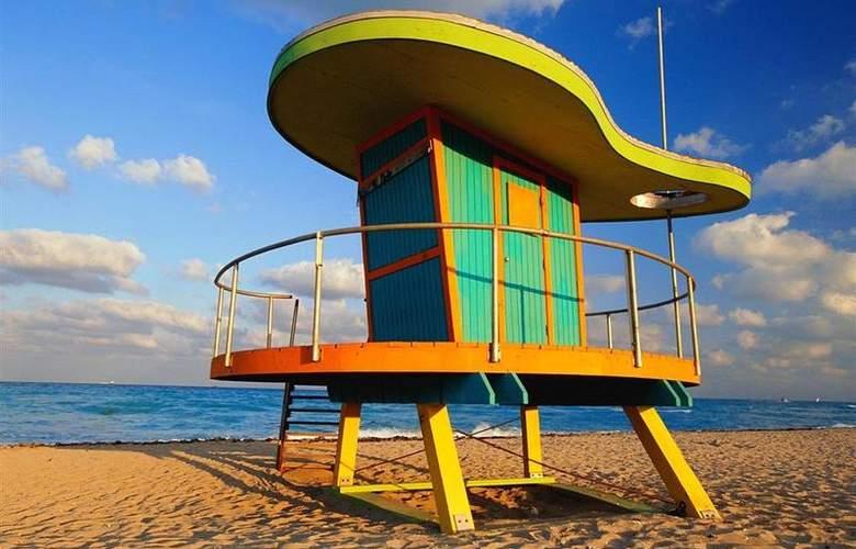 Best Western Plus Atlantic Beach Resort - Beach - 86