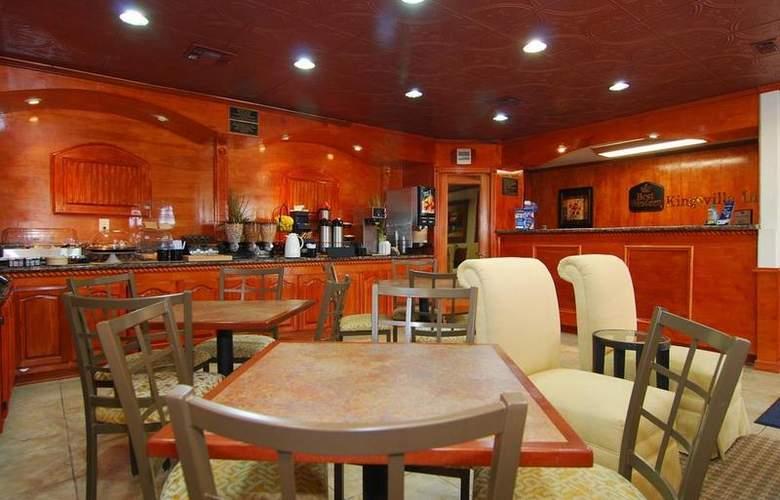 Best Western Kingsville Inn - Restaurant - 114