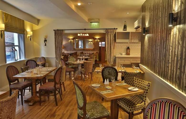 Best Western George Hotel Lichfield - Restaurant - 146