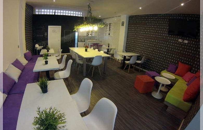 Chameleon Hostel Alicante - Bar - 0