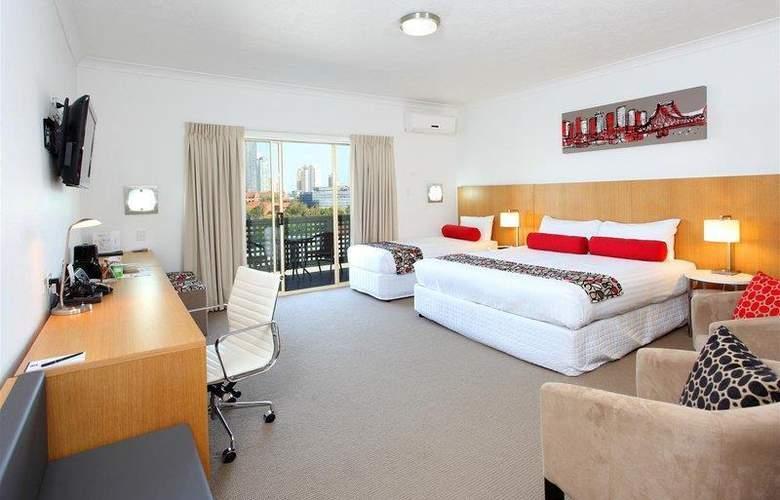 Best Western The Gregory Terrace Brisbane - Room - 32