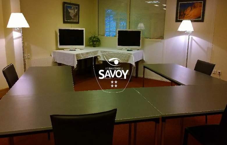 Les Balcons du Savoy - Conference - 22