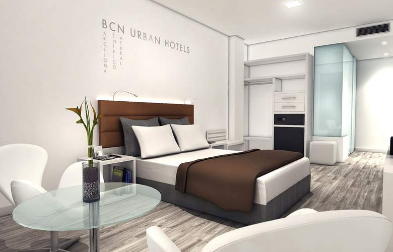 Bcn Urban Hotels Gran Rosellon - Room - 8