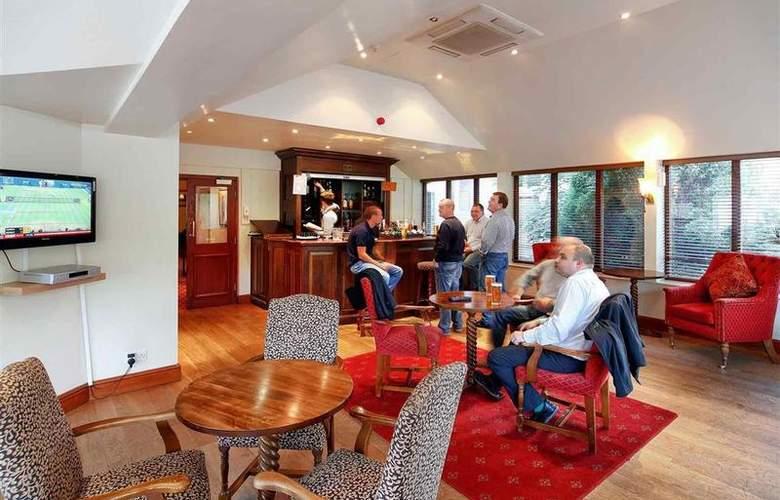 Mercure Telford Madeley Court Hotel - Bar - 5