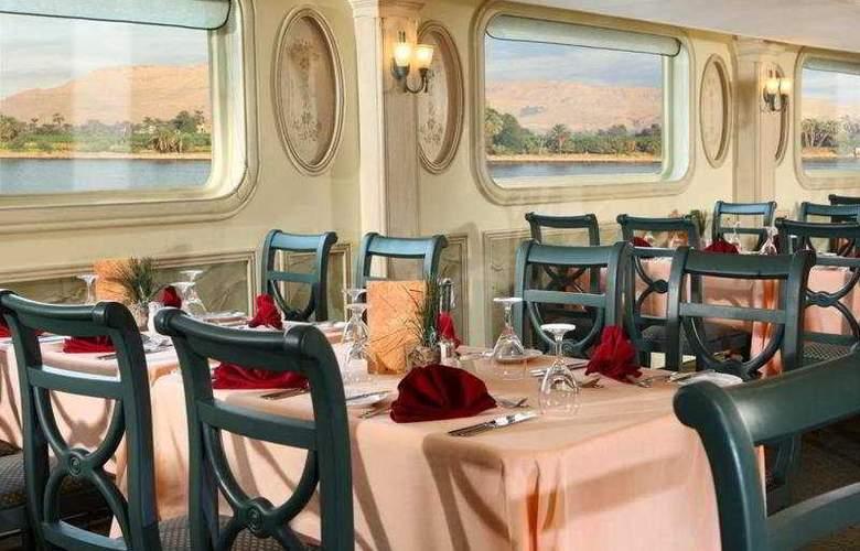 M/S Sonesta Moon Goddess Nile Cruise - Restaurant - 10