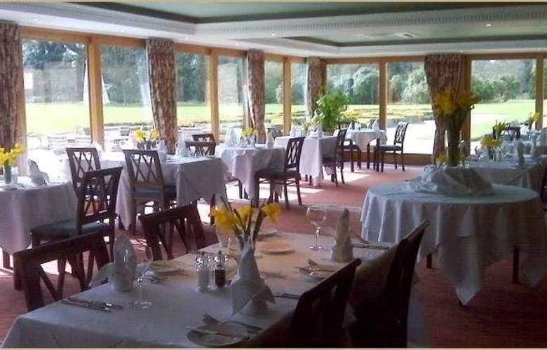 Shendish Manor Hotel & Golf Course - Restaurant - 12