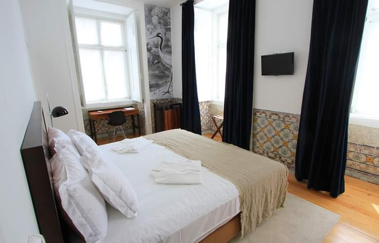 Lisboa Prata Boutique Hotel - Room - 13