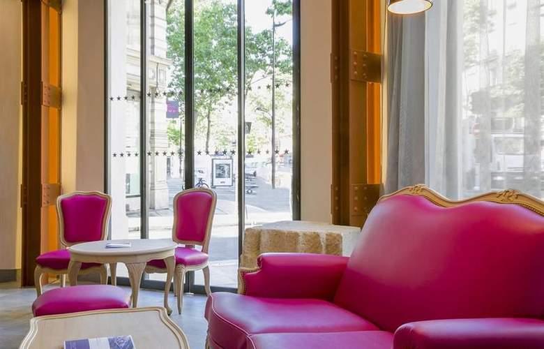 Best Western Premier Marais Grands Boulevards - General - 6