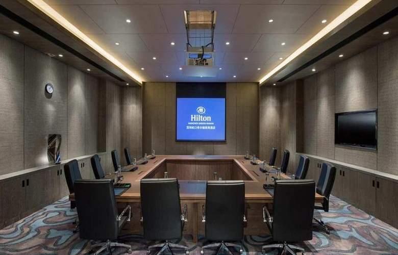Hilton Shenzhen Futian - Conference - 10