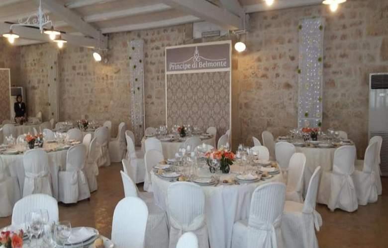 Villa Principe Di Belmonte - Restaurant - 3