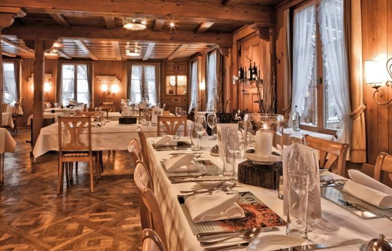 Kemmeriboden-Bad Swiss Quality Hotel - Restaurant - 7