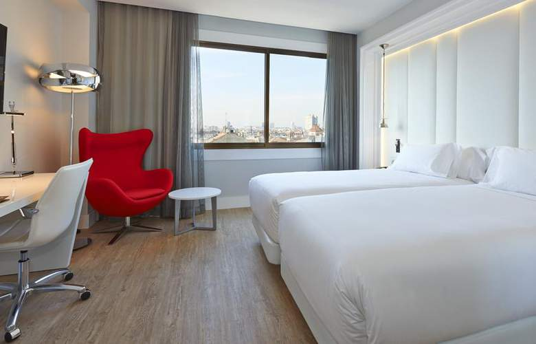 NH Collection Barcelona Gran Hotel Calderón - Room - 10