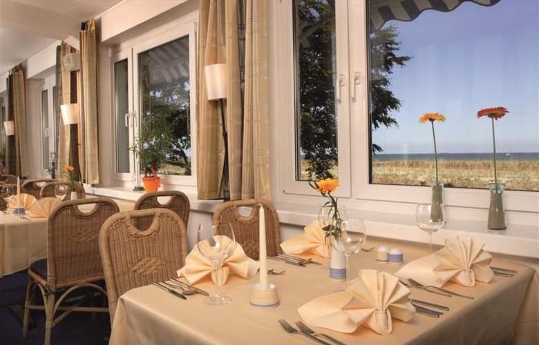 Best Western Hanse Hotel Warnemuende - Restaurant - 73