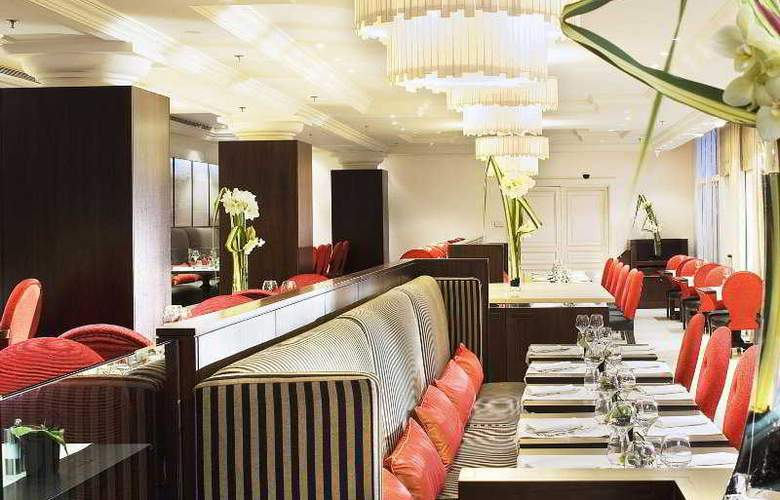 Paris Marriott Champs Elysees - Restaurant - 1