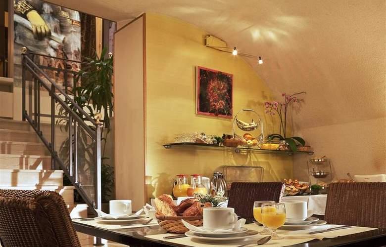Best Western Anjou Lafayette Opéra - Restaurant - 32