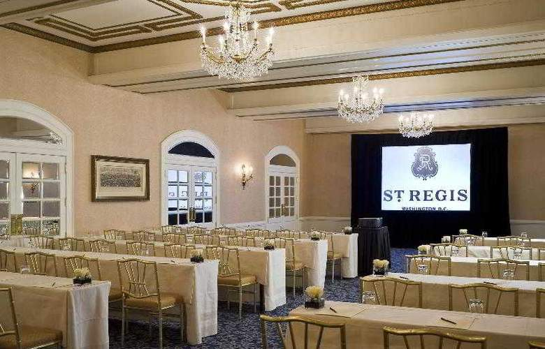 The St Regis Washington Dc - Hotel - 8