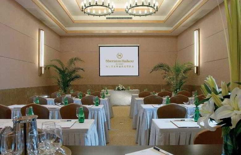 Sheraton Haikou Resort - Hotel - 21
