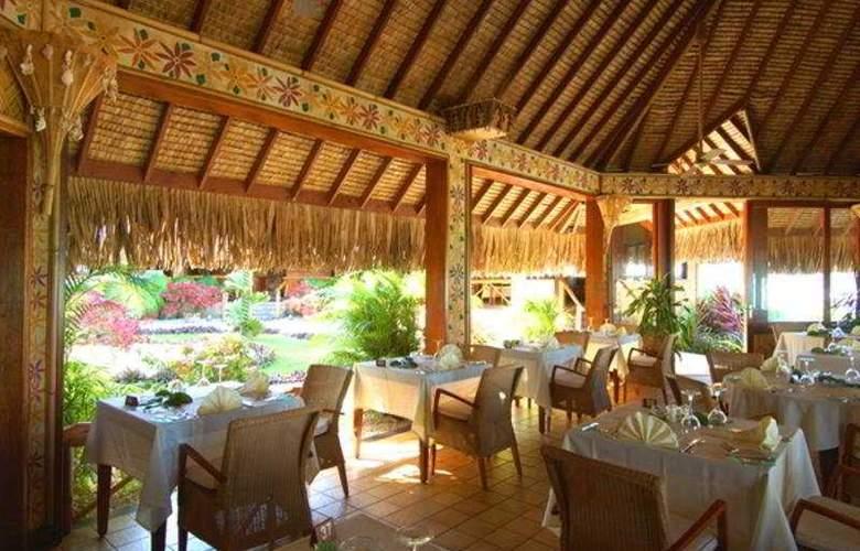 Intercontinental Bora Bora Le Moana Resort - Restaurant - 9