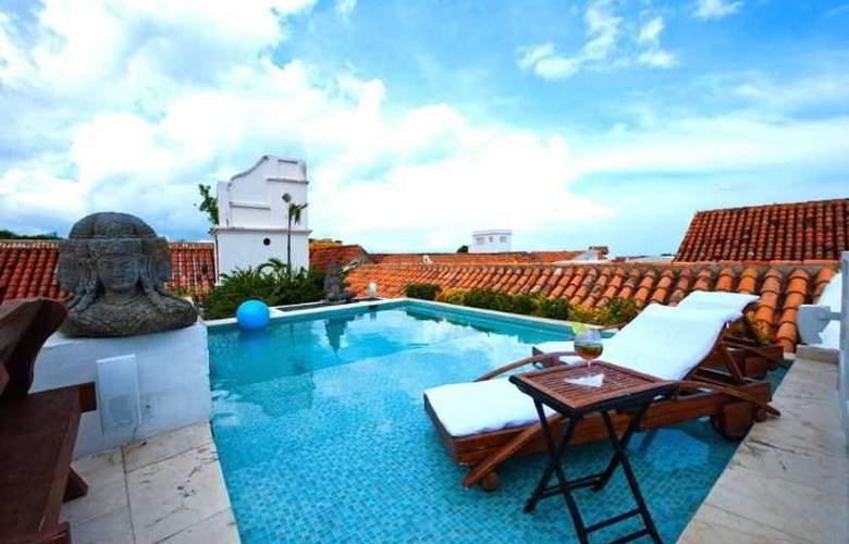 Aguamarina Hotel Boutique - Pool - 21