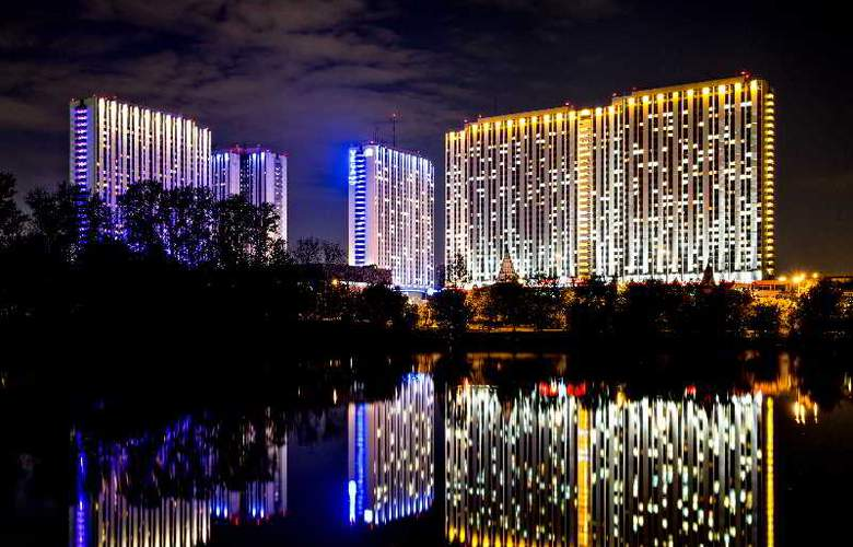 Izmailovo Vega Hotel and Convention Center - Terrace - 24