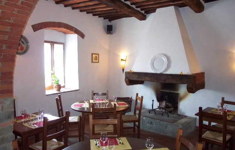 Borgo Castelvecchi Residenza D´Epoca - Restaurant - 10