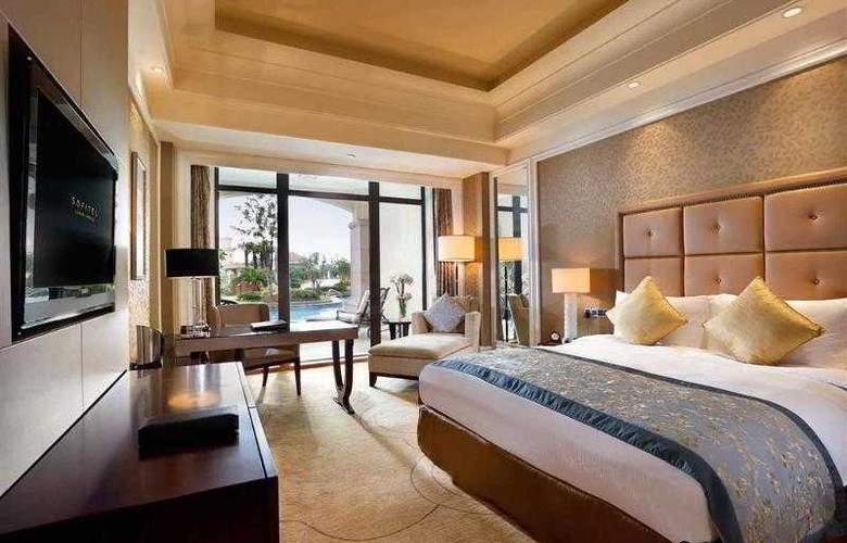 Sofitel Shanghai Sheshan Oriental - Hotel - 34
