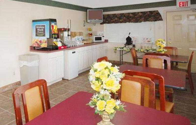 Econo Lodge Inn & Suites Coliseum - Restaurant - 4
