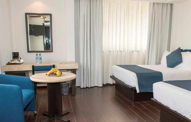 Best Western Real de Puebla - Room - 30