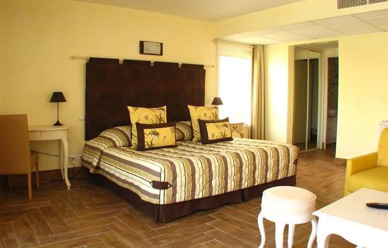 Best Western Soleil et Jardin Sanary - Room - 37