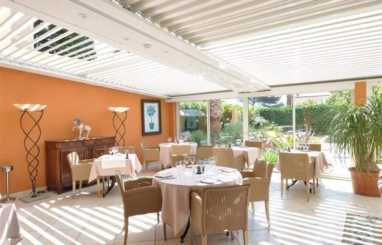 Best Western Hotel Montfleuri - Restaurant - 108