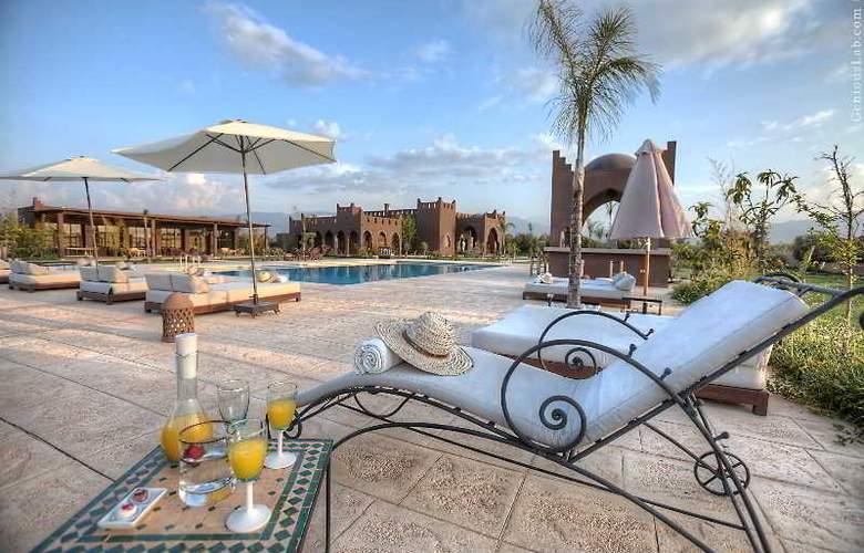 Kasbah Igoudar Boutique hotel & Spa - Terrace - 22
