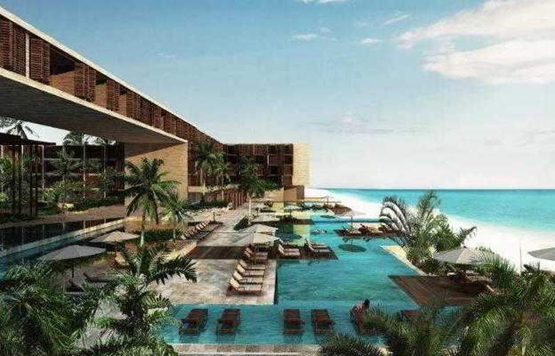 Grand Hyatt Playa del Carmen Resort - Pool - 2