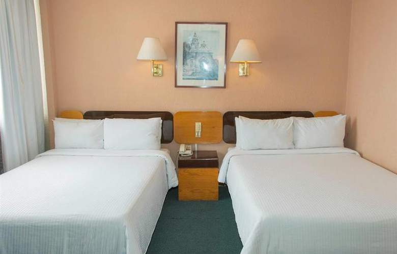 Best Western Real de Puebla - Room - 39