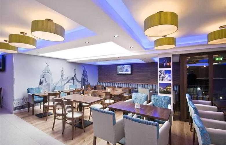 Best Western Plus Seraphine Hotel Hammersmith - Restaurant - 101
