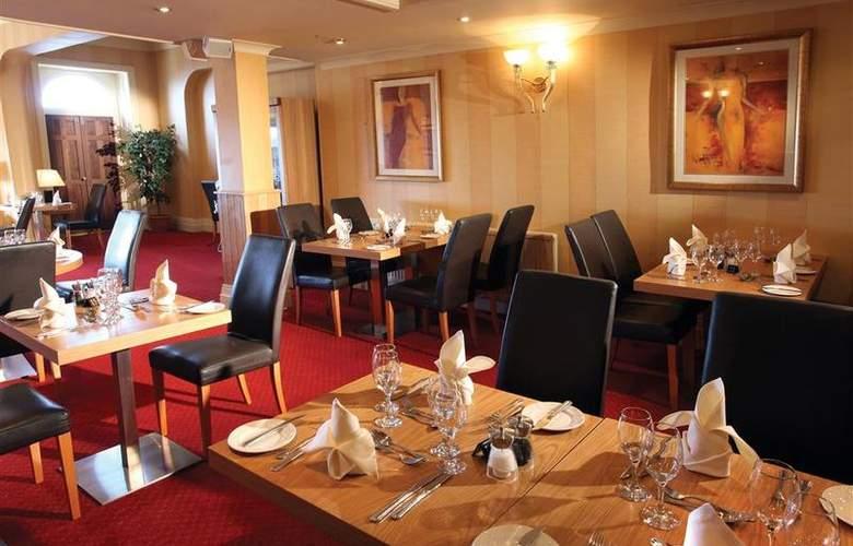 Best Western Glendower - Restaurant - 165