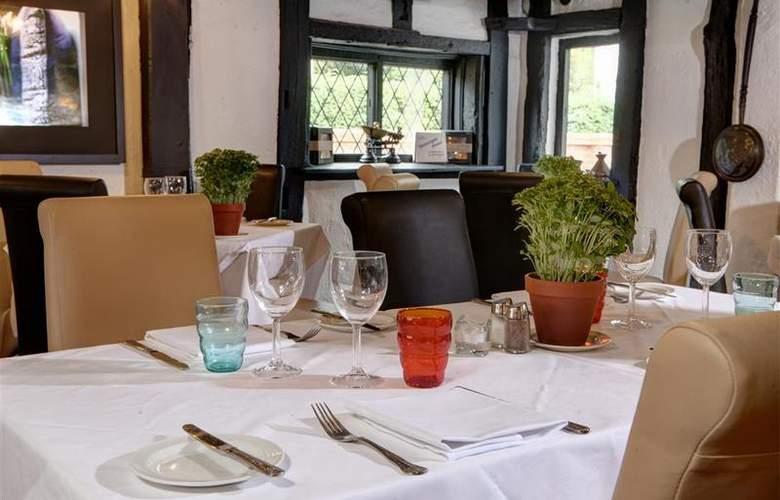 Best Western Donnington Manor - Restaurant - 7