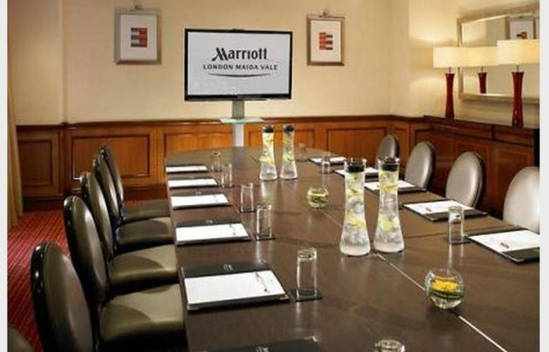 Marriott Maida Vale - Conference - 13