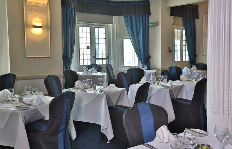 Best Western York House - Restaurant - 190