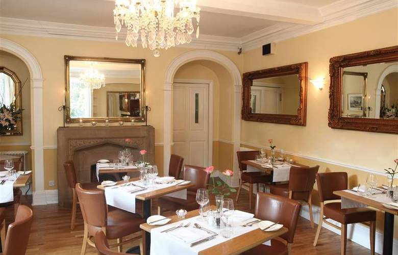 Best Western Henbury Lodge Hotel - Restaurant - 91