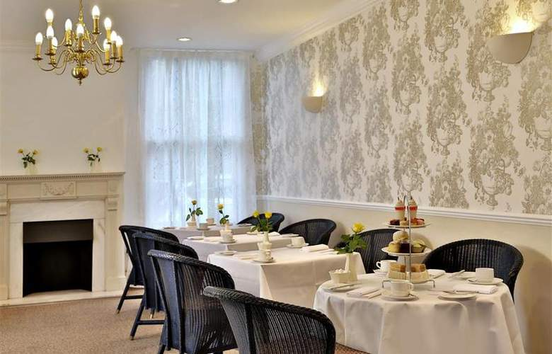 Best Western Grosvenor - Restaurant - 21