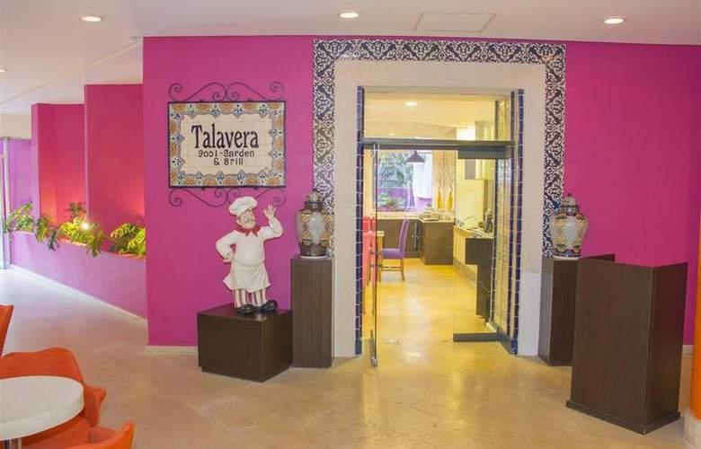 Best Western Real de Puebla - Restaurant - 83