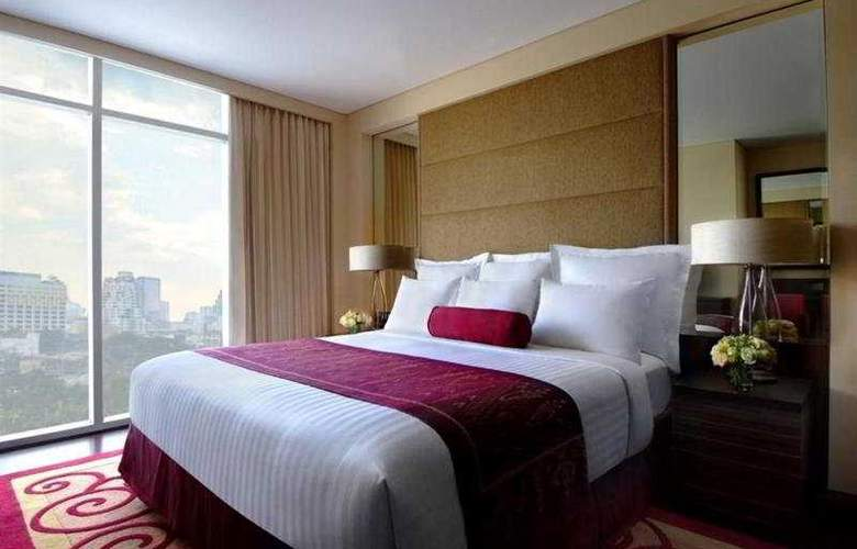 Marriott Executive Apartment Sathorn Vista Bangkok - Room - 4