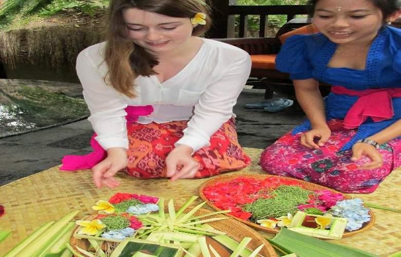 Nandini Bali Jungle Resort and Spa Ubud - Sport - 27