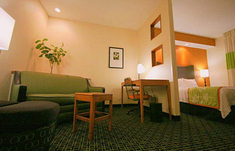 Fairfield Inn by Marriott Kansas City Internationa - Room - 8