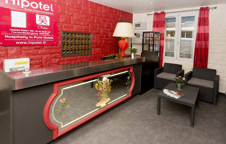 Hipotel Buttes Chaumont - Hotel - 1