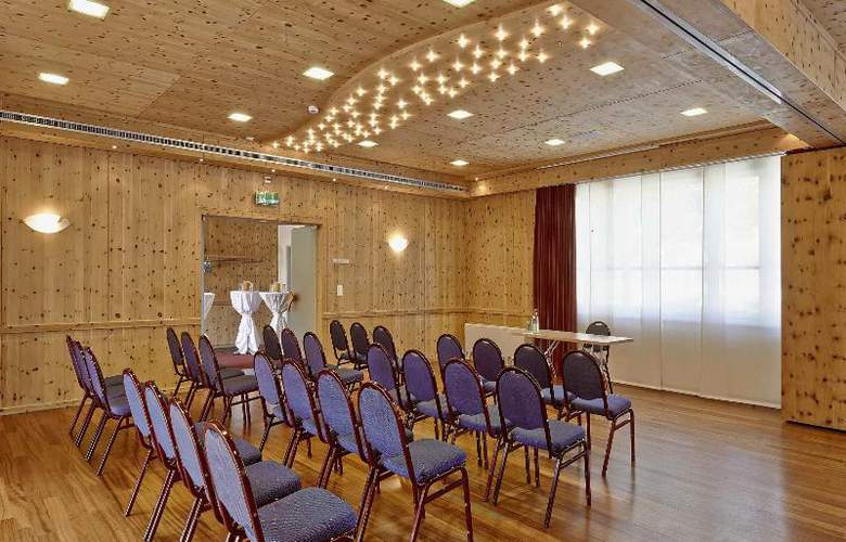 City and Wellness Swiss Quality Hotel Sonnental - Conference - 17