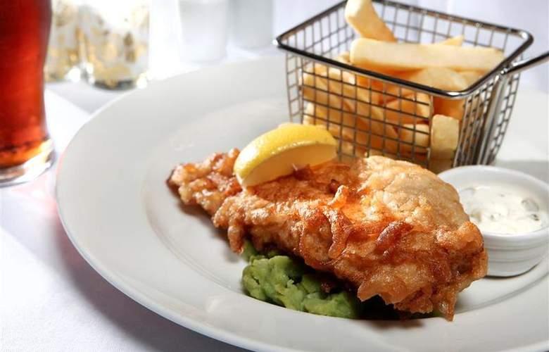Best Western Hotel St Pierre - Restaurant - 54